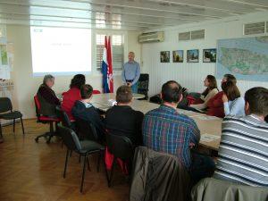 Prezentacija OGK RH u gradskoj vijećnici grada Supetra (FOTO: Ladislav Fuček).
