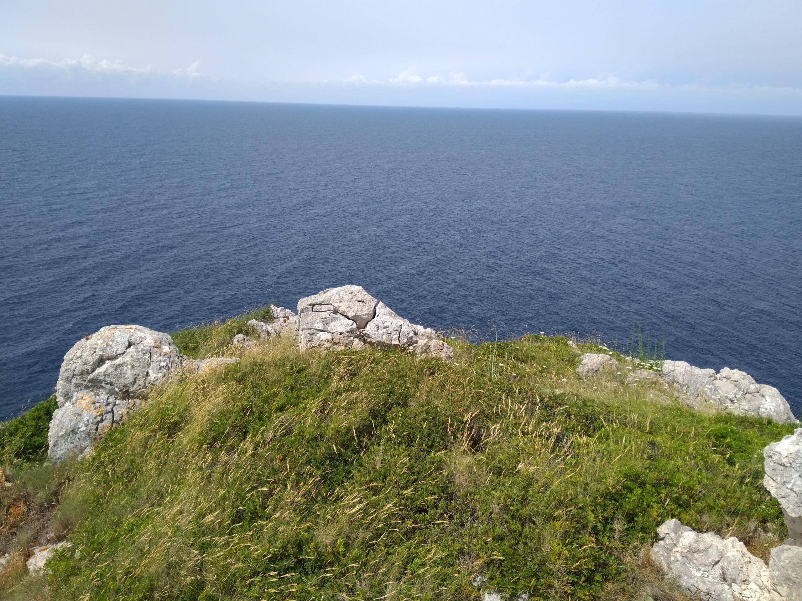 Pogled s otoka Klobučar na jug