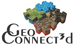 GeoERA GeoConnect 3d logo