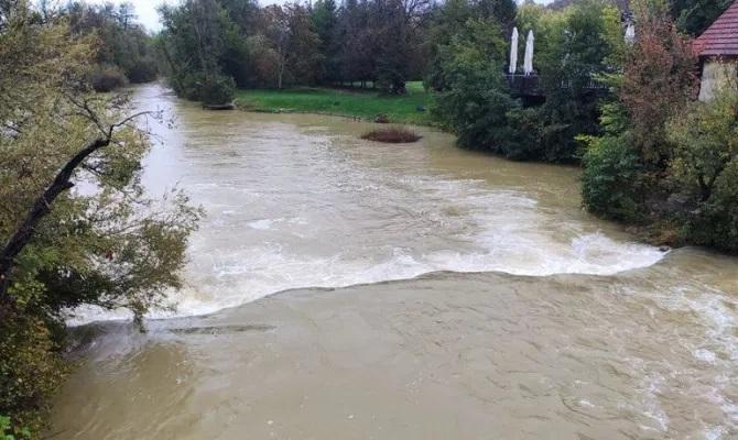Zamućenost rijeke Mrežnice