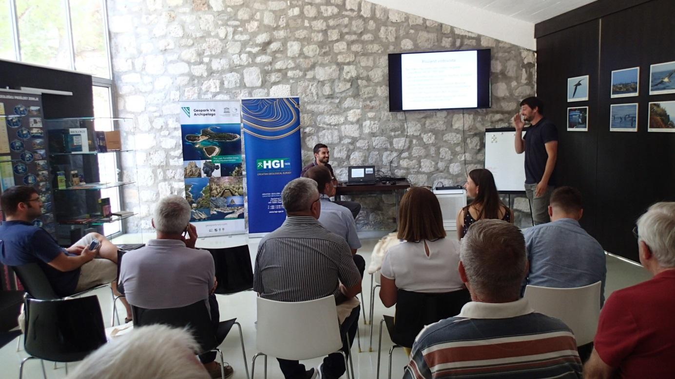 Marko Plenča i Boris Ivanišević tijekom predavanja