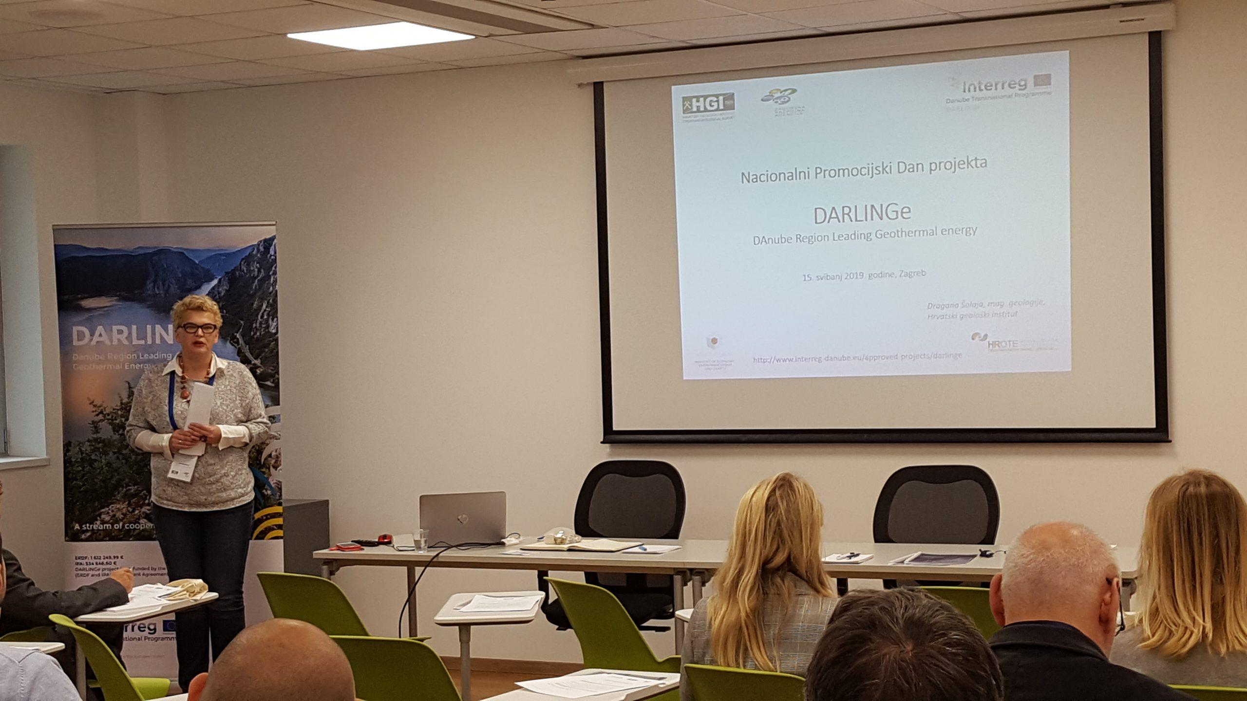 Dr. sc. Tamara Marković tijekom predavanja