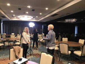 Dr.sc. Tamara Markovic daje izjavu za BHT1