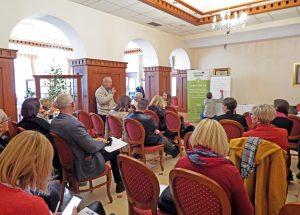 Atmosfera tijekom diskusije