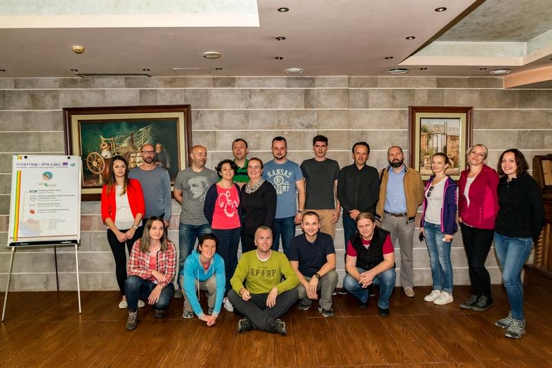 Sudionici 2. projektne radionice safEarth projekta.