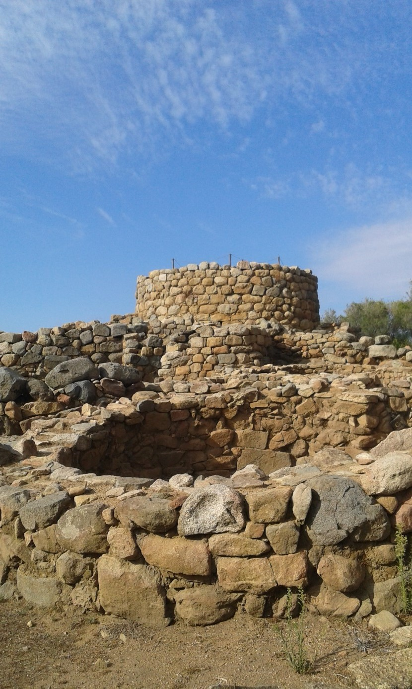 Arheološko nalazište Nuragi civilizacije.