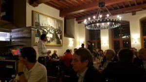 """Slika 4. Večera u restoranu """"Stat Kaastel"""" sudionika projekta GeoERA"""