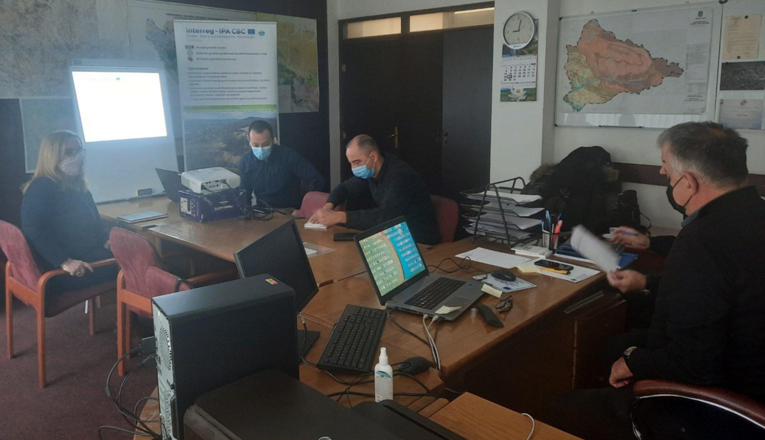 Sastanak sa predstavnicima Službe civilne zaštite Grada Tuzla