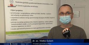Prilog u vijestima Mreže TV, dr.sc. Vlatko Gulam, voditelj projekta